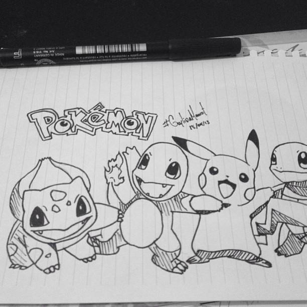 Pokemon Pokemon Drawing Cartoon Anime Manga Catchthe