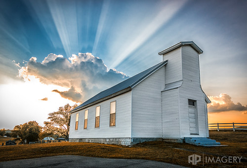 kentucky country rural sunset church ky clouds landscape sunray sunrays