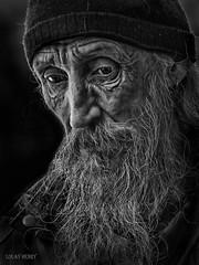 Street Portrait - I'm often silent when I am screaming inside.