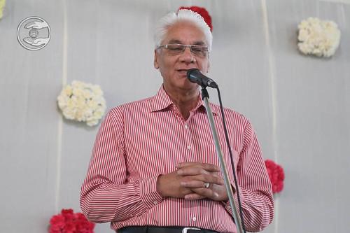 Subhash Talus, expresses his views