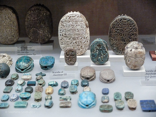 "Ancient History Project: Scarab Artifacts at the Met Museum in NYC | by Stephanie ""Biffybeans"" Smith"