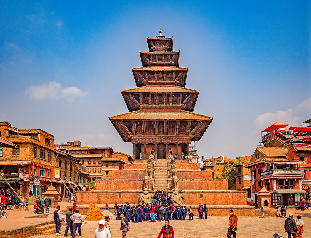 Temple de Nyatapola à Bhaktapur