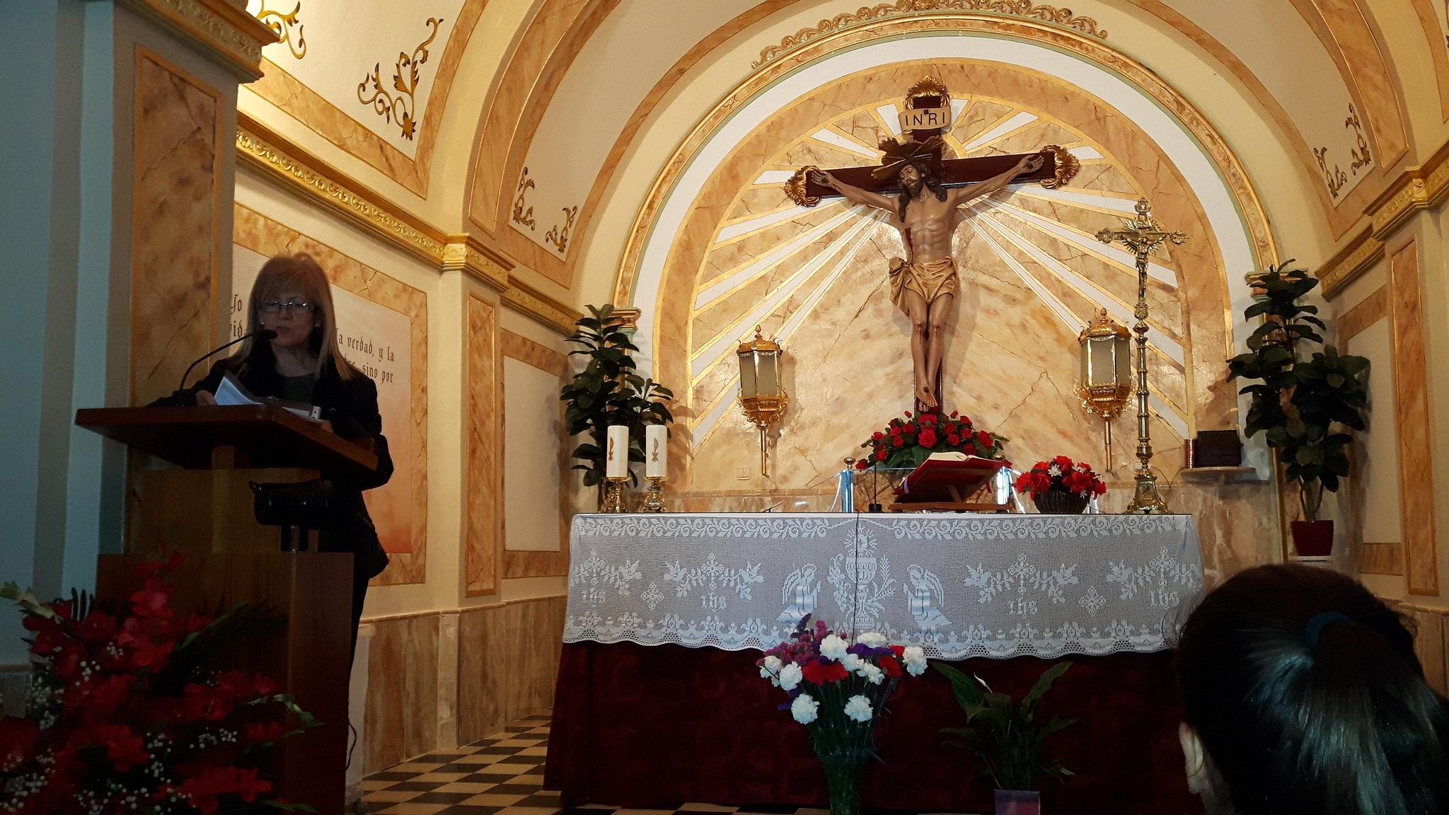 (2017-03-31) - Visita ermita alumnos Pilar, profesora religión 9 Octubre - Marzo -  María Isabel Berenguer Brotons (04)