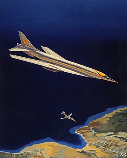 1960's ... Supersonic Transport (SST) concept | by x-ray delta one