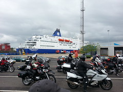 the ferry that brought us to Newcastle