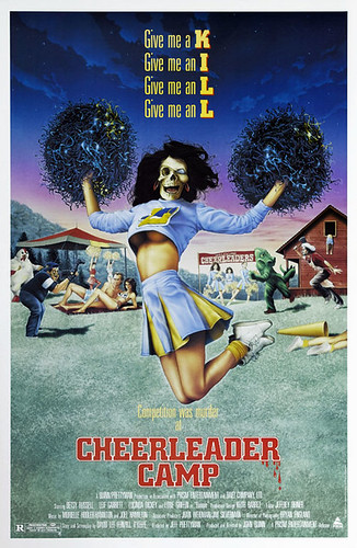 Cheerleader Camp poster (1988) | by Paxton Holley