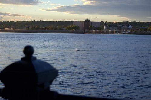 sunrise waterfront iowa ia mississippiriver riverfront davenport daveport