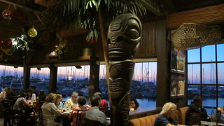 Trader Vic's dining room   by The Tiki Chick