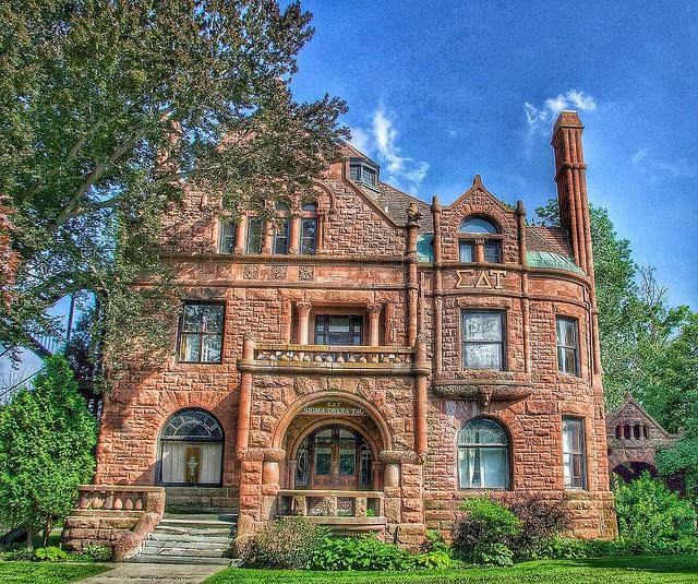 Cortland  Ny ~ SIGMA DELTA TAU SOROTITY HOUSE  ~ Historic Mansion