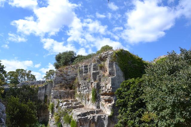 Sicile, Syracuse, nécropole