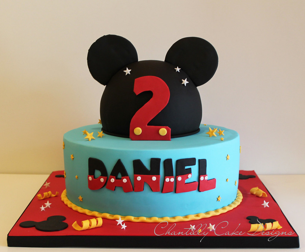 Mickey Mouse Cake | Beth | Flickr