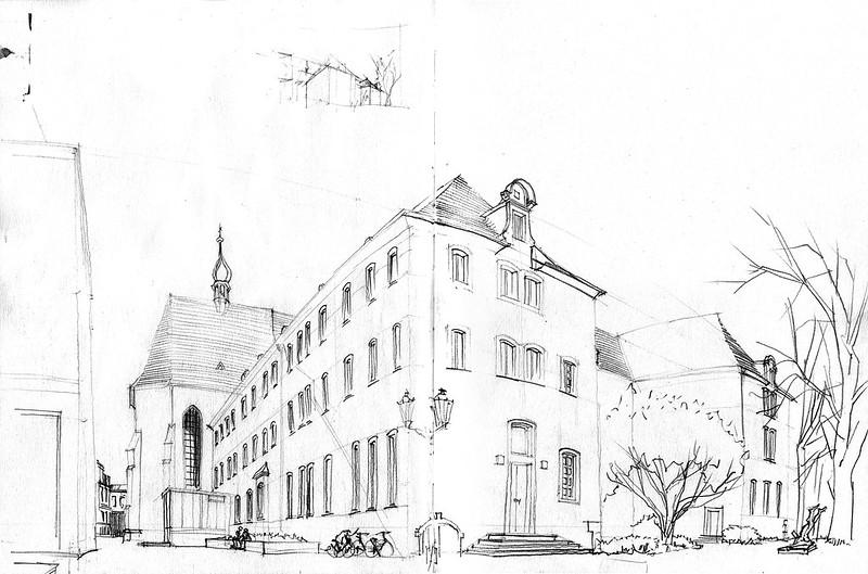 Kempen, ehem. Franziskanerkloster (not finished)