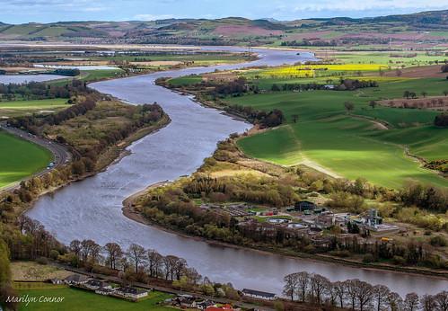 scotland nikond3300 landscape kinnoullhill rivertay perthandkinross perth highlands scenery scenic marilynconnor