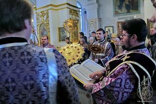 Литургия в Покровском соборе 255