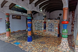 Toaleta publiczna Hundertwassera | Hundertwasser public toilet | by addictedtotravelpl