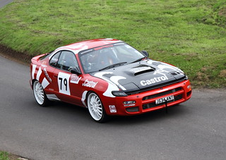 79 Louis Brooks - Toyota Celica GT4 2000cc (T) Into Kennel
