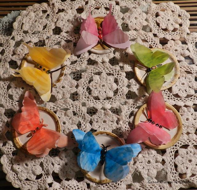 Hand-made Butterflies