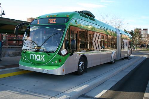 MAX BRT Bus / Fort Collins, CO