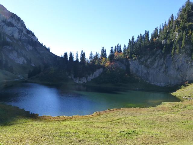 10.09.14.Lac d'Arvoin - La chapelle d'Abondance