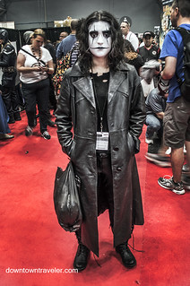 NY Comic Con 2014 The Crow | by Downtown Traveler