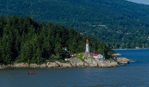 ocean cruise lighthouse canada rocks britishcolumbia whalewatching westvancouver lighthousepark zaandam pointatkinson martinsmith whalewatchingboat nikon18200mmvrii nikond7000 alaskacruise2014 ©martinsmith