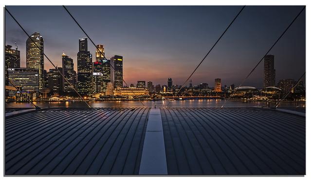Marina Bay view, Singapore