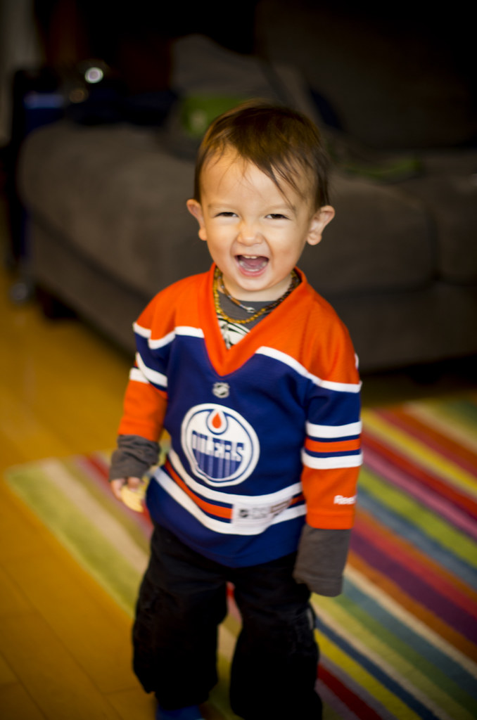 Someone S Excited To Go To The Oilers Game Tonight Flickr