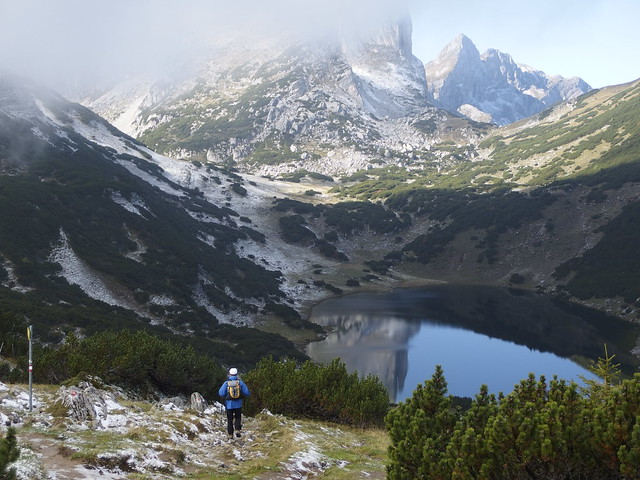 Alps Alpen Österreich Austria Tirol Tyrol Zireiner See Lake (c)