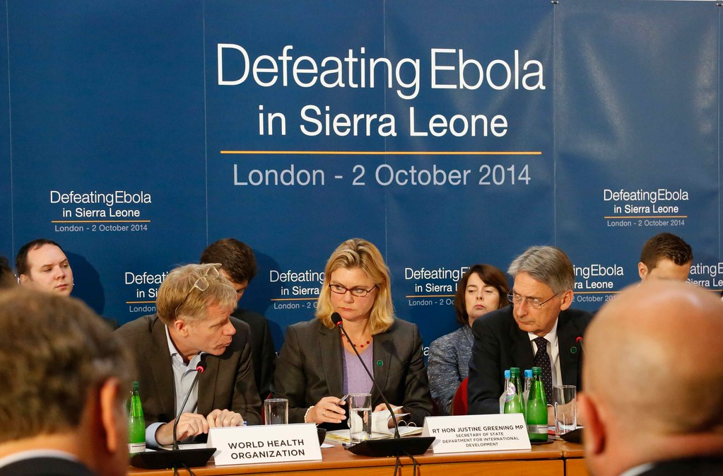 Defeating Ebola conference plenary session