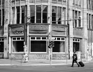 Vacant Building; Man with Trolley | by kohlmann.sascha