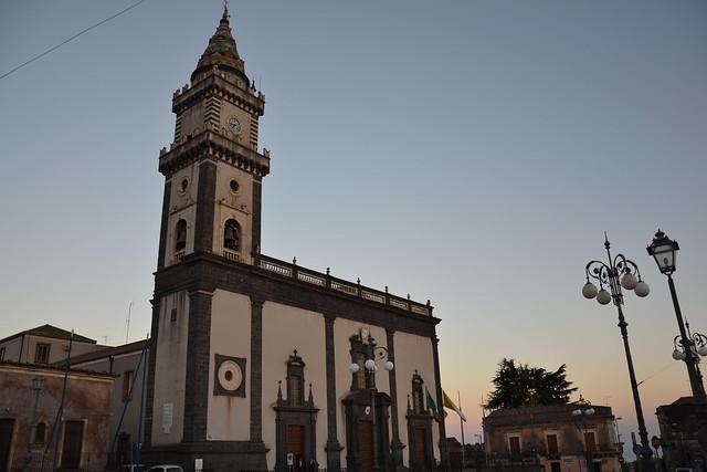 Pedara, petite ville au pied de l'Etna
