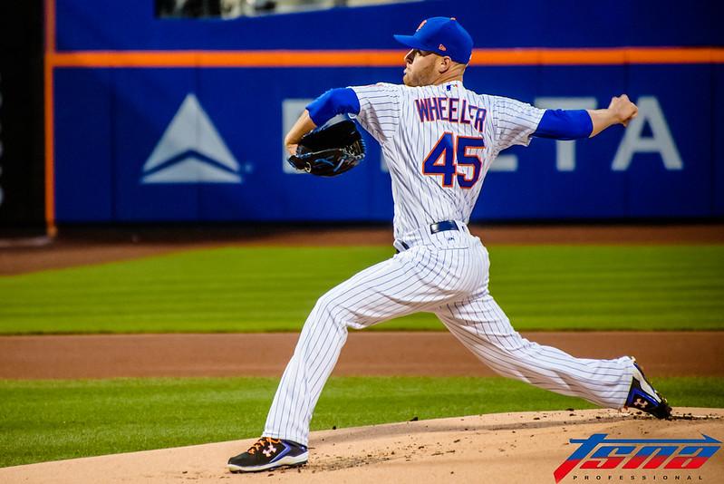 Zack Wheeler不僅好投封鎖還敲出生涯首轟。(資料照,駐美特派李宏政/紐約現場拍攝)