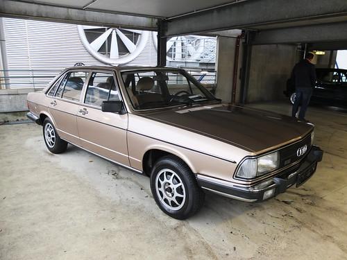 Audi 100 5E 1982   Bremen Classic Motorshow 2017   Hog ...