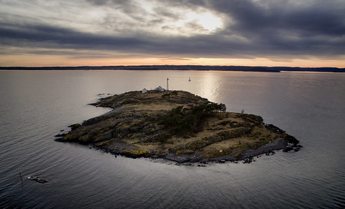 moss jeløy jeløya gullholmen østfold norge norway aerial dji phantom oslofjorden oslofjord water sea seascape landscape sunset