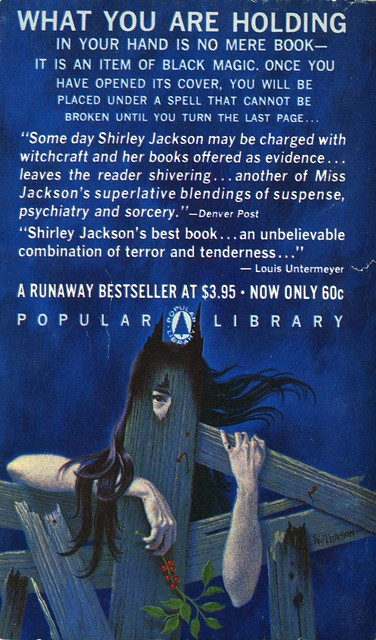 Popular Library M2041 - Shirley Jackson - We Have Always Lived in the Castle (back)