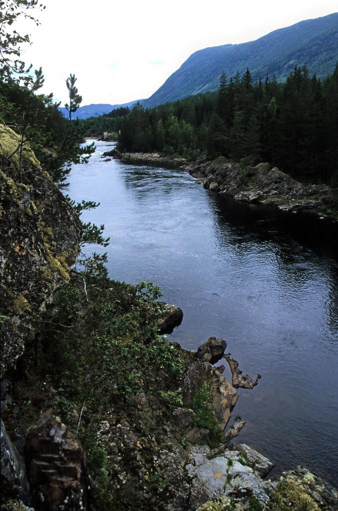 Norwegen 1998 (023) Hallingdalselva