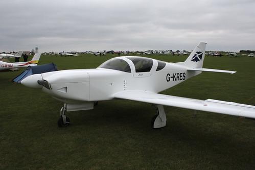 G-KRES Glasair IIS RG [PFA 149-12984] Sywell 030911