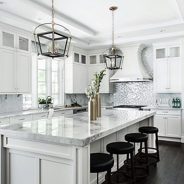 You feel great when you have a #Marble #Kitchentop like th… | Flickr