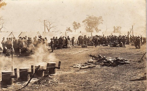WALLANGARRA No2 QUARANTINE CAMP - 1919