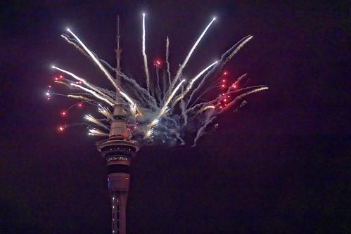 Noworoczne fajerwerki | New Year's fireworks | by addictedtotravelpl