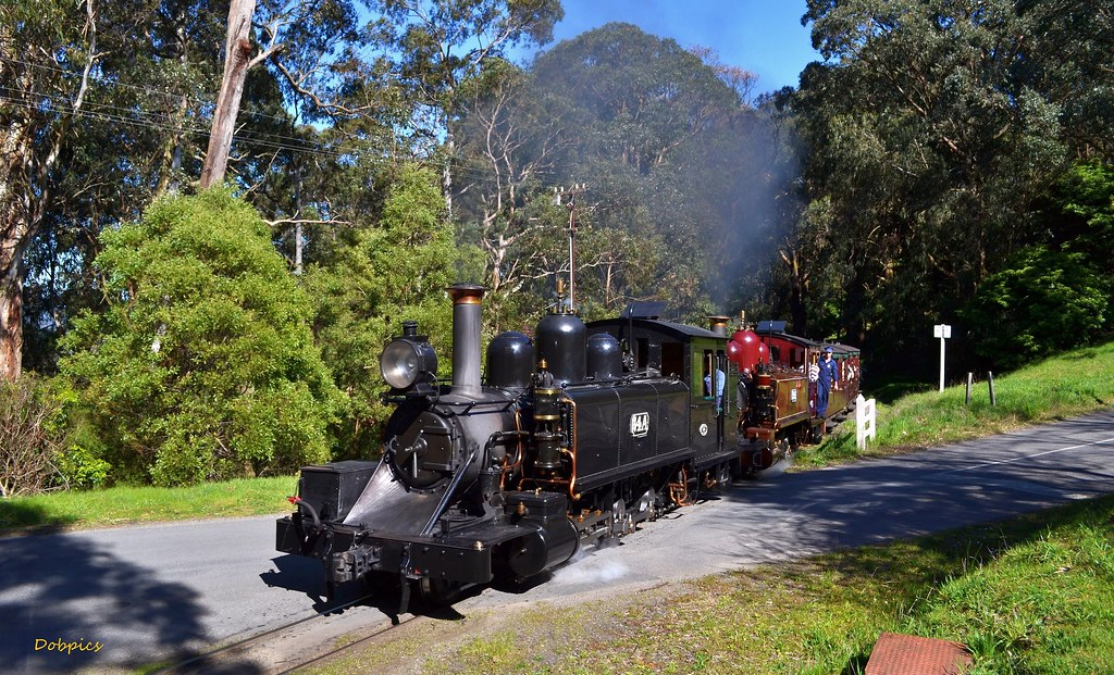 14A & 12A cross School Rd Menzies Creek with a Lakeside pass. 7/9/14 by Dave O'Brien