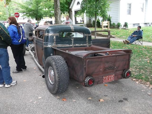 1936 Dodge stretched rat rod truck