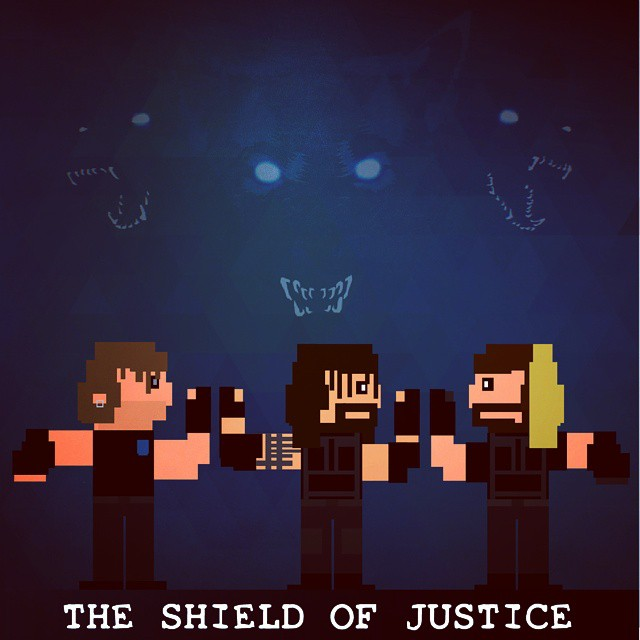 The Hounds of Justice #pixelartist #nes #ps1 #snes #ps2 #a