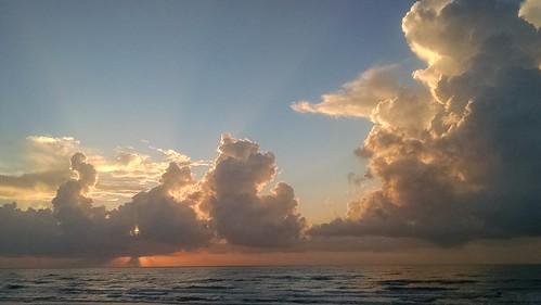 sky clouds sunrises surfside surfsidebeach flickrandroidapp:filter=none