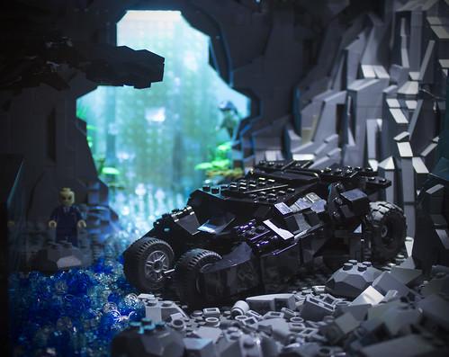 Dark Knight Rises Batcave Tumbler