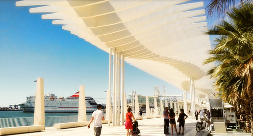 Malaga Port .. The Palm Garden of Surprises | by Nick Kenrick.