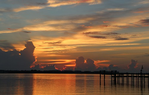 sunrise golden florida lagoon stuart martincounty sewallspoint indiariver