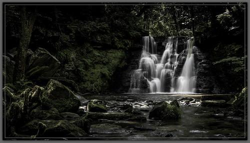 longexposure water waterfalls cascades westyorkshire keighley hardenbeck goitstockfalls