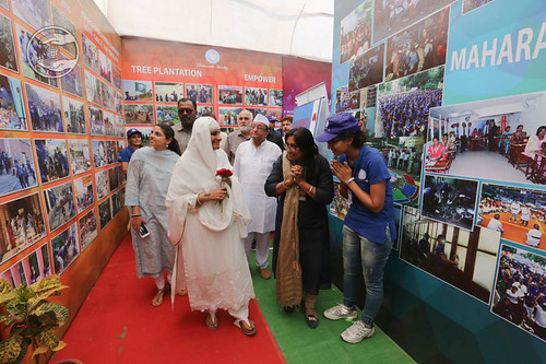 Sant Nirankari Charitable Exhibition visits by Her Holiness
