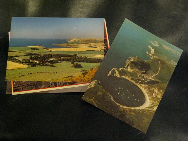 Thrifted Postcards